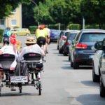 WG-Mieterin Maria Pickert und unsere Auszubildende Lisa Demmler sind mit der Tour Demenz von Ahlen bis Beckum mitgefahren. (Foto: www.kulturmanagement-online.de)
